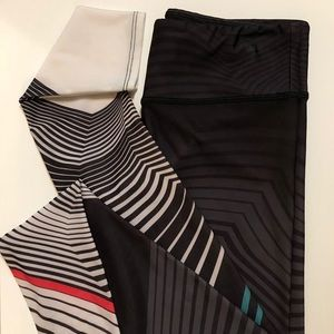 Onzie yoga graphic pants like new M/L